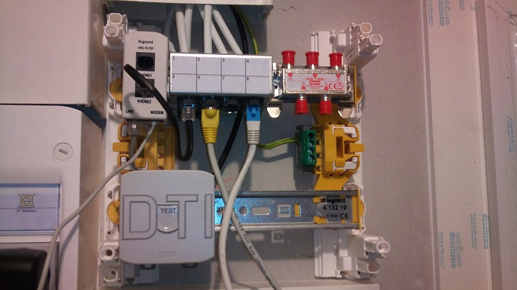 Forum orange raccordement sur boitier dti - Schema branchement livebox orange ...